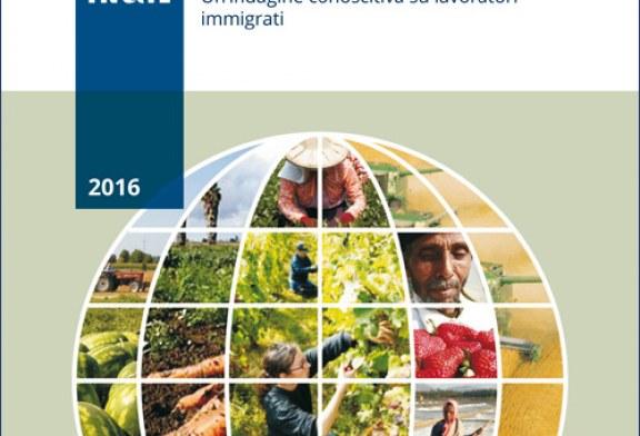 Salute e sicurezza in agricoltura. Un'indagine conoscitiva su lavoratori immigrati