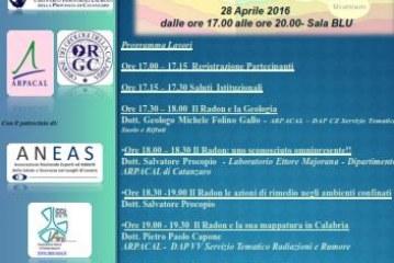 Radon: seminario Arpacal alla Fiera EdilExpo