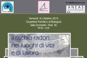 """AMBIENTE LAVORO 2015 – Seminario """"il rischio radon nei luoghi di vita e di lavoro"""""""