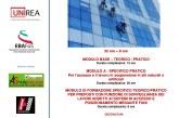 Corso di formazione teorico-pratico per preposti e lavoratori addetti ai sistemi di accesso e posizionamento mediante funi