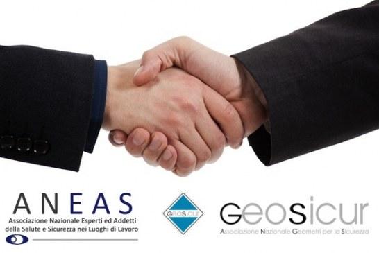 Accordo Quadro tra Aneas e Geosicur (Associazione Nazionale Geometri per la Sicurezza)